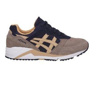 ASICS GEL-LIQUE Brown/Blue Athletic Shoes